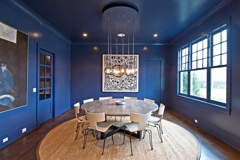现代风格蓝色装修效果图